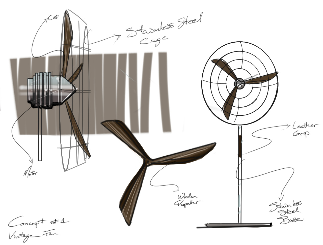 Early Concept Sketch