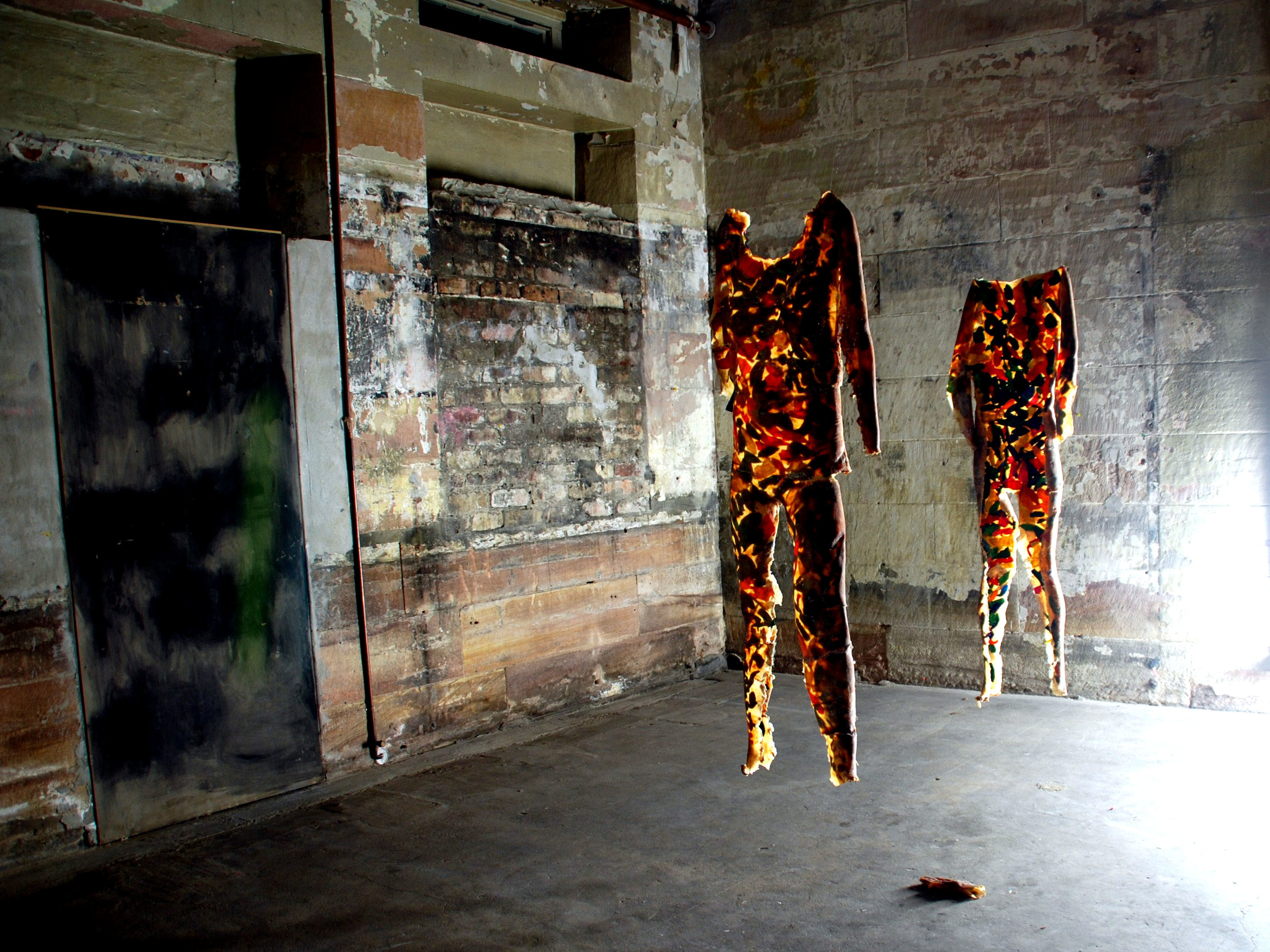 Kate Brown, Latex Suit, mixed materials, 2009