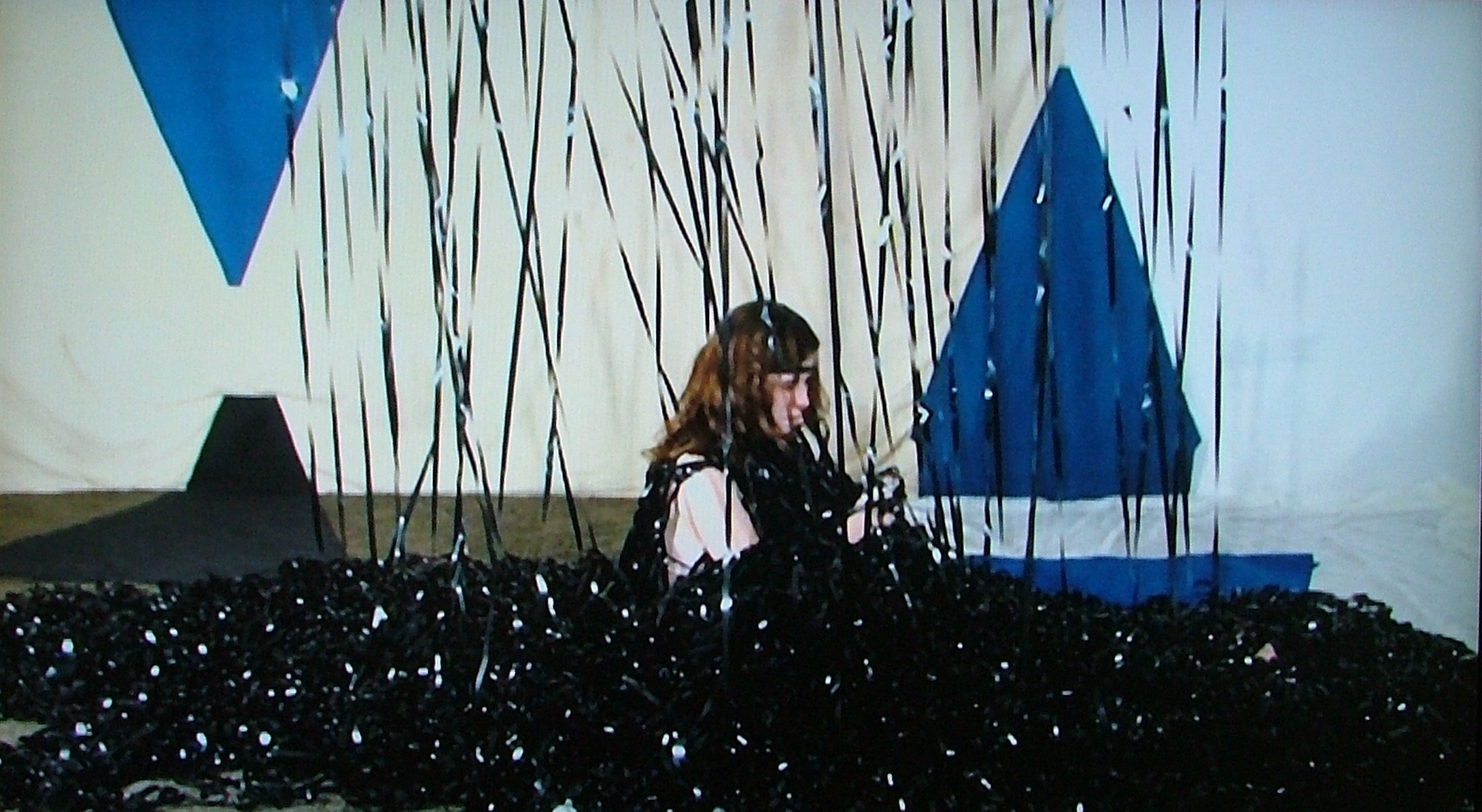 Kate Brown, Flight over Hollywood 2, single channel video, 2009