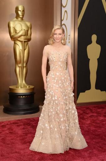 Cate Blanchett, classic beauty.