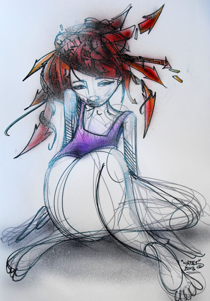 Graffitti Girl 1