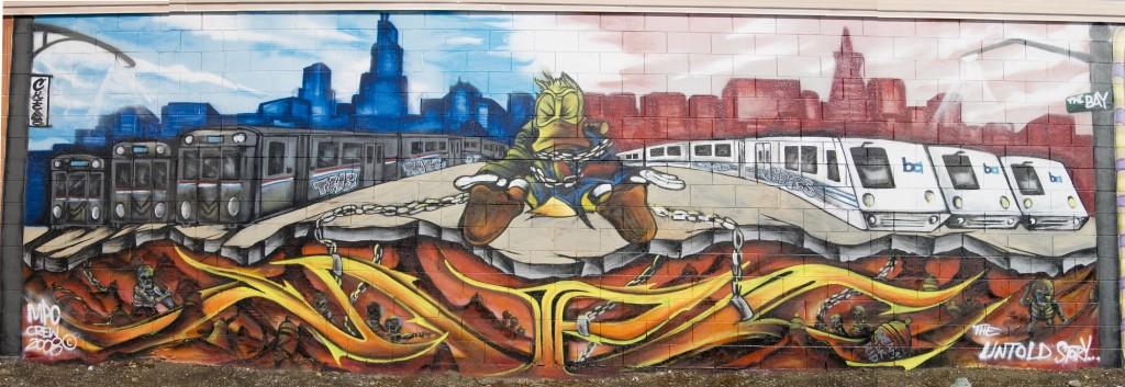 MPC Crew, Dream Dedication Wall, Oakland, CA 2008