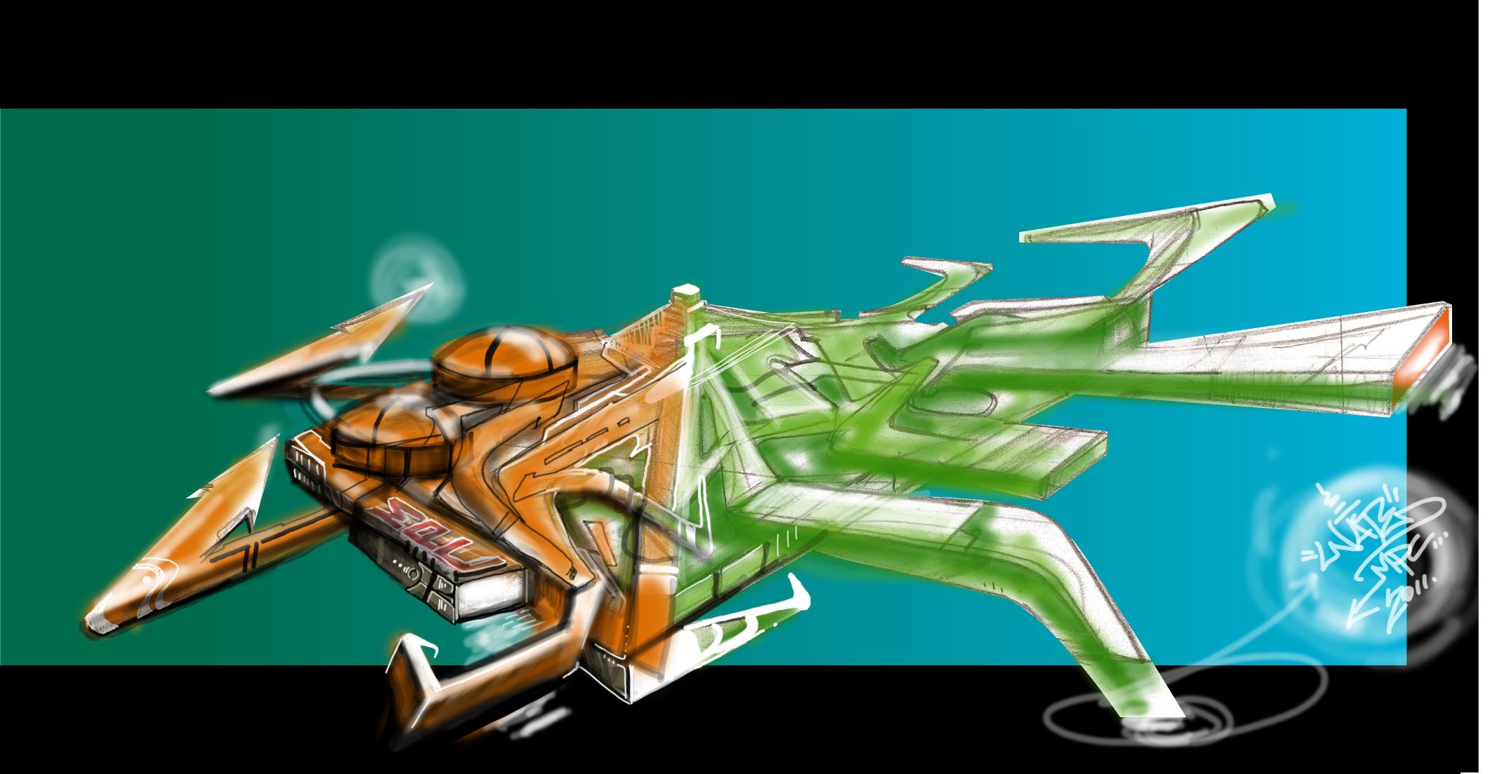 SpaceshipNate1Piece2011
