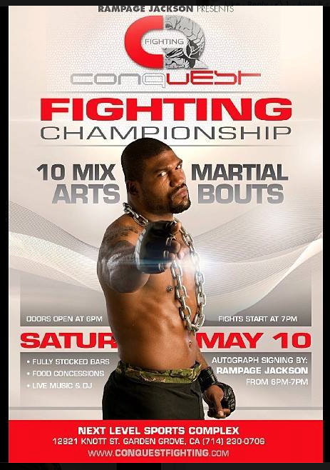 Conquest Fighting May 10th 2014