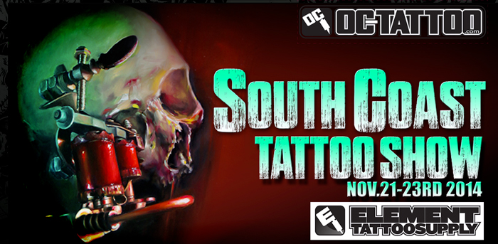 South Coast Tattoo Show - OC Tattoo and Element Tattoo Supply