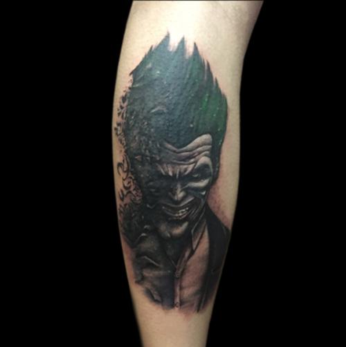 Patrick Thomas the tattoo artist
