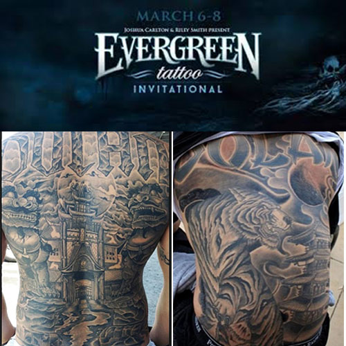 Evergreen tattoo invitational Oregon 2016