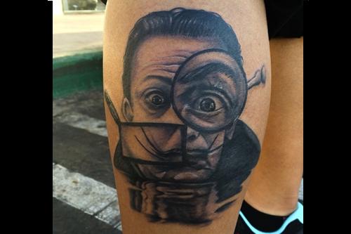 Patrick 'Slick' Thomas Tattoos