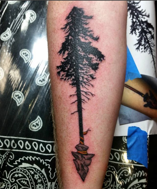Hoang Cu tree tattoo