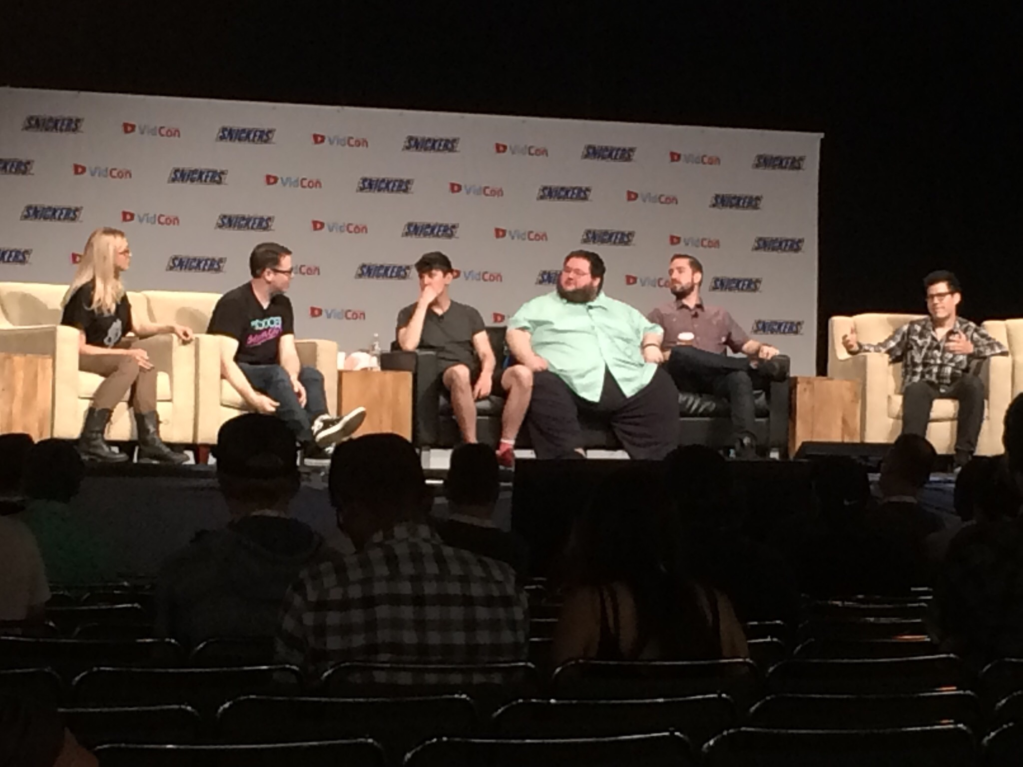 Vidcon 2016 Part Four Day 2 Shawn Belew He previously worked for inside gaming and as a producer for. vidcon 2016 part four day 2 shawn