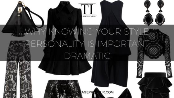 style Personality Dramatic