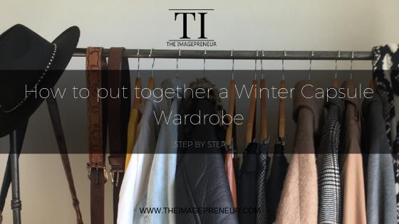 Capsule wardrobe The Imagepreneur