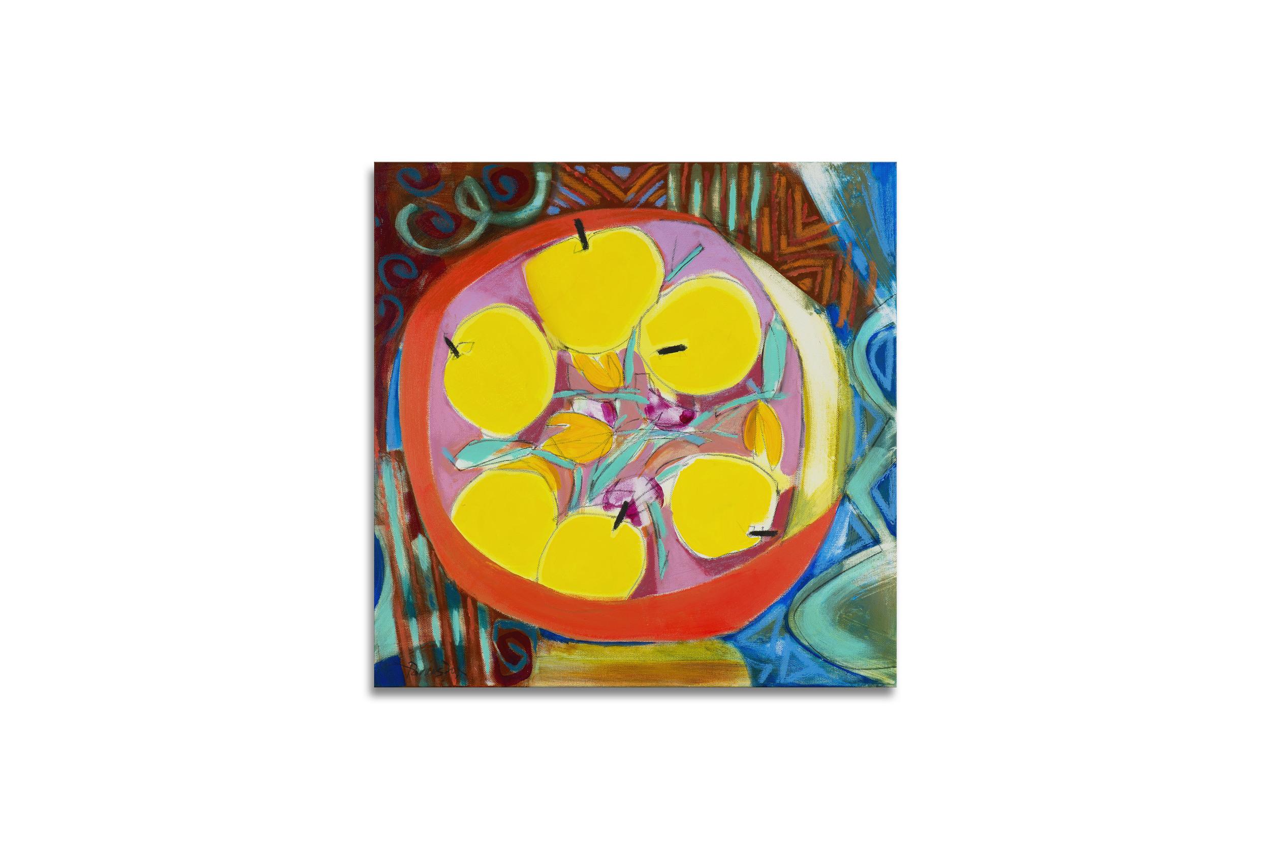 Lemons in Fruitbowl