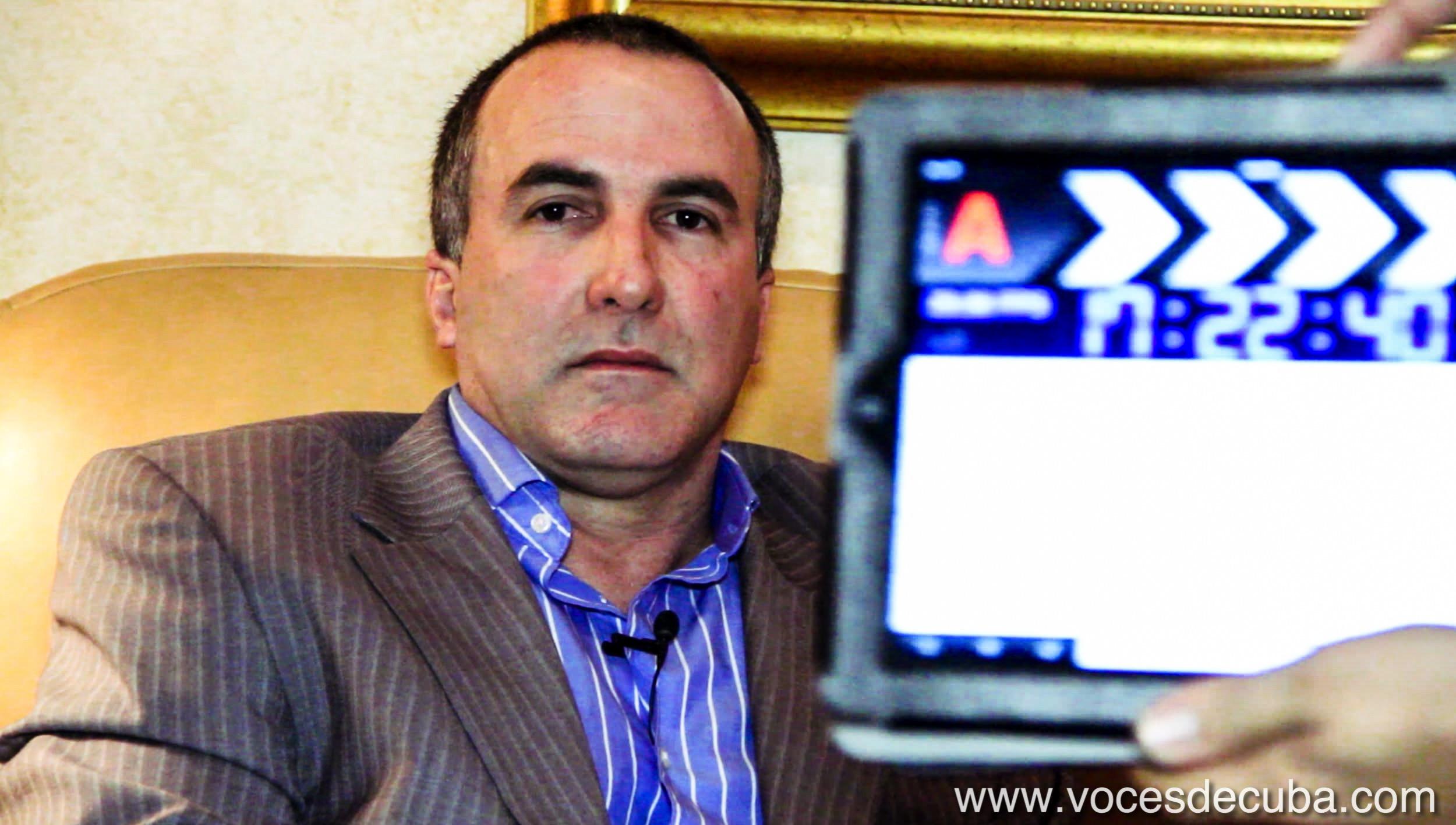 """Rodaje de """"Voces de Cuba"""" con Horacio Julio Piña"""