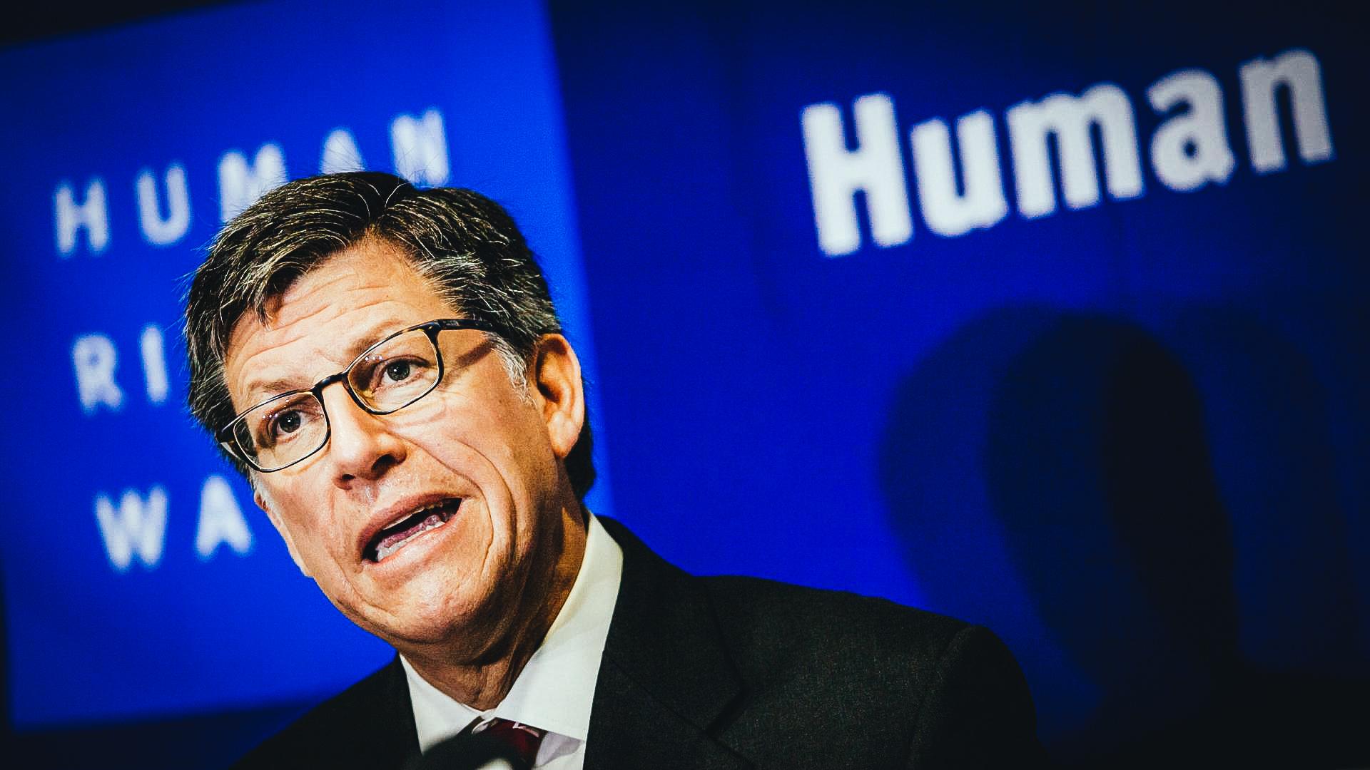 José Miguel Vivanco,  director para las Américas de  Human Rights Watch  (HRW)