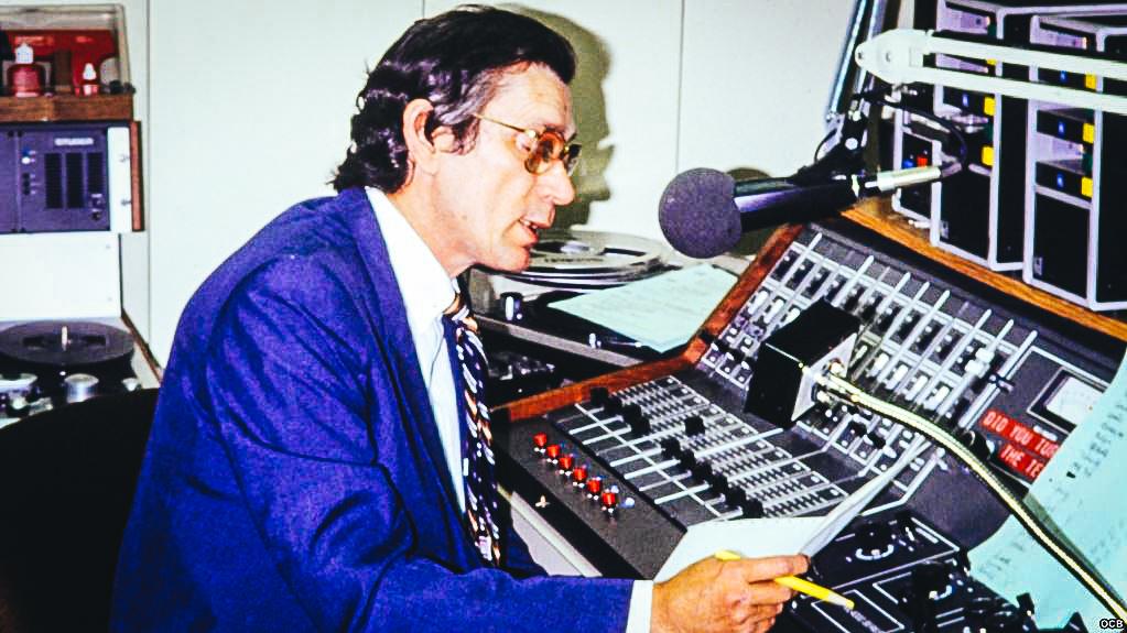 Alvaro D. Insua fue uno de los fundadores de Radio Martí. (Archivo RTV MARTI)