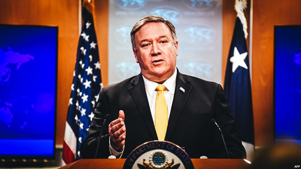 El secretario de Estado de EEUU, Mike Pompeo.