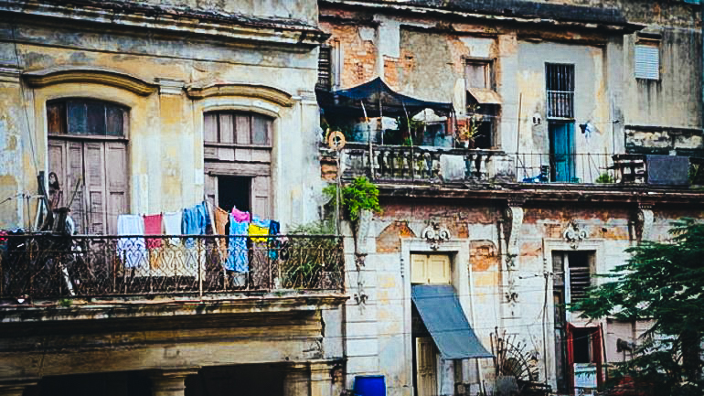 Edificios de residencia en La Habana