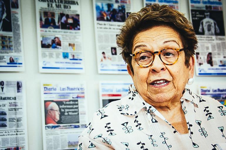 La congresista Donna Shalala. Foto DIARIO LAS AMÉRICAS