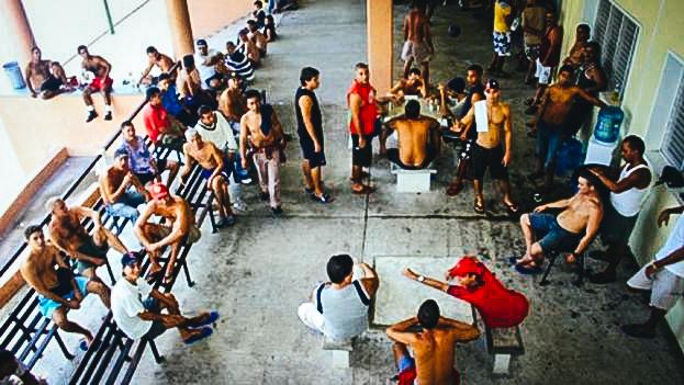 Cubanos en Tapachula, México.