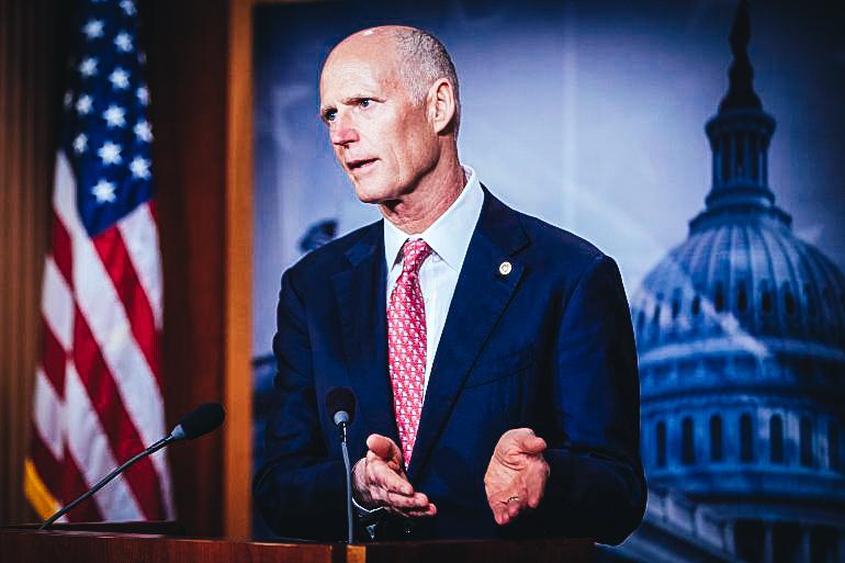El senador republicano de Florida, Rick Scott. EFE/Archivo