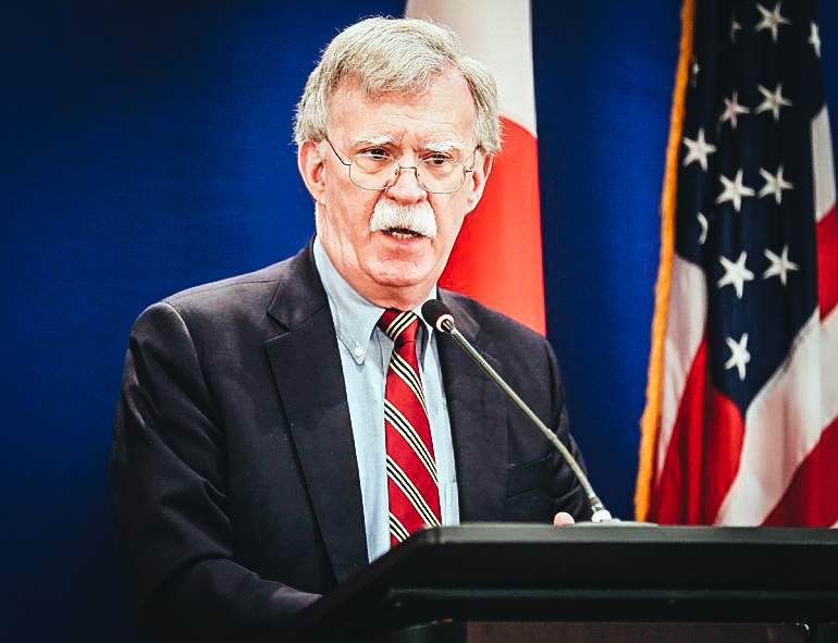 John Bolton, asesor de Seguridad Nacional del Gobierno Trump.EFE /ARCHIVO