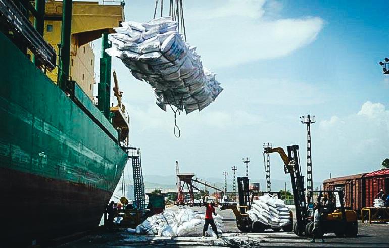 El puerto Guillermón Moncada, en Santiago de Cuba. (CORTESÍA- GRANMA)