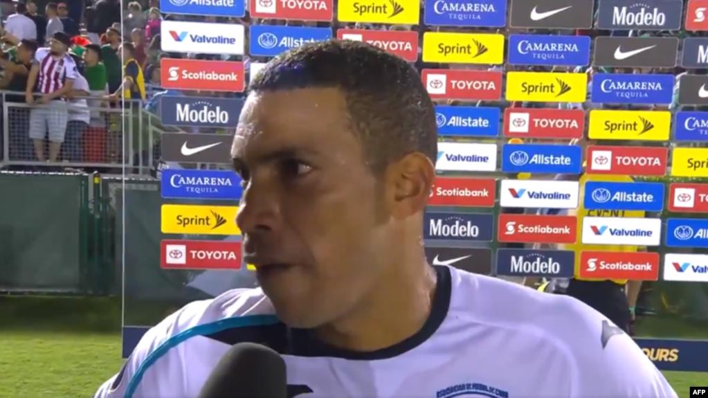 Yasmani López, futbolista de la selección de Cuba. Foto Cubanet.