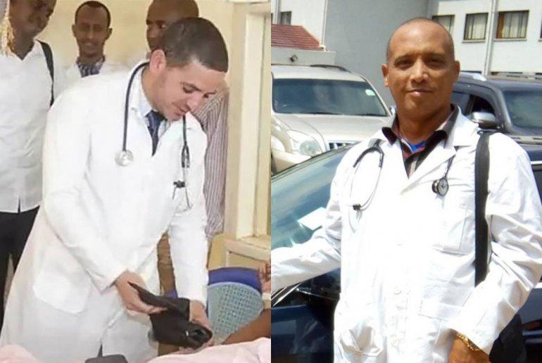 Landy Rodríguez Hernández y Assel Herrera Correa. DIARIO DE CUBA