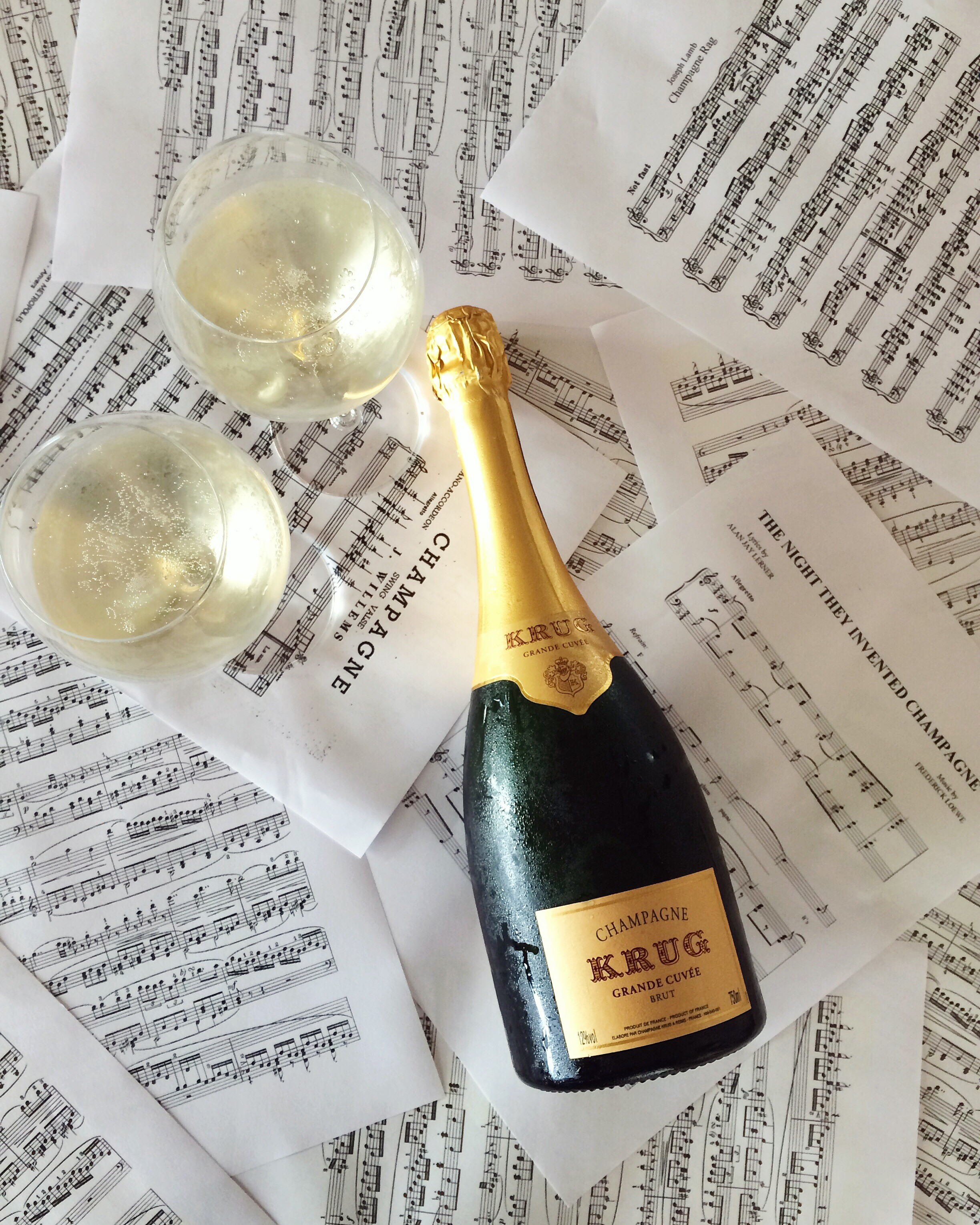 KRUG & music sheets.JPG