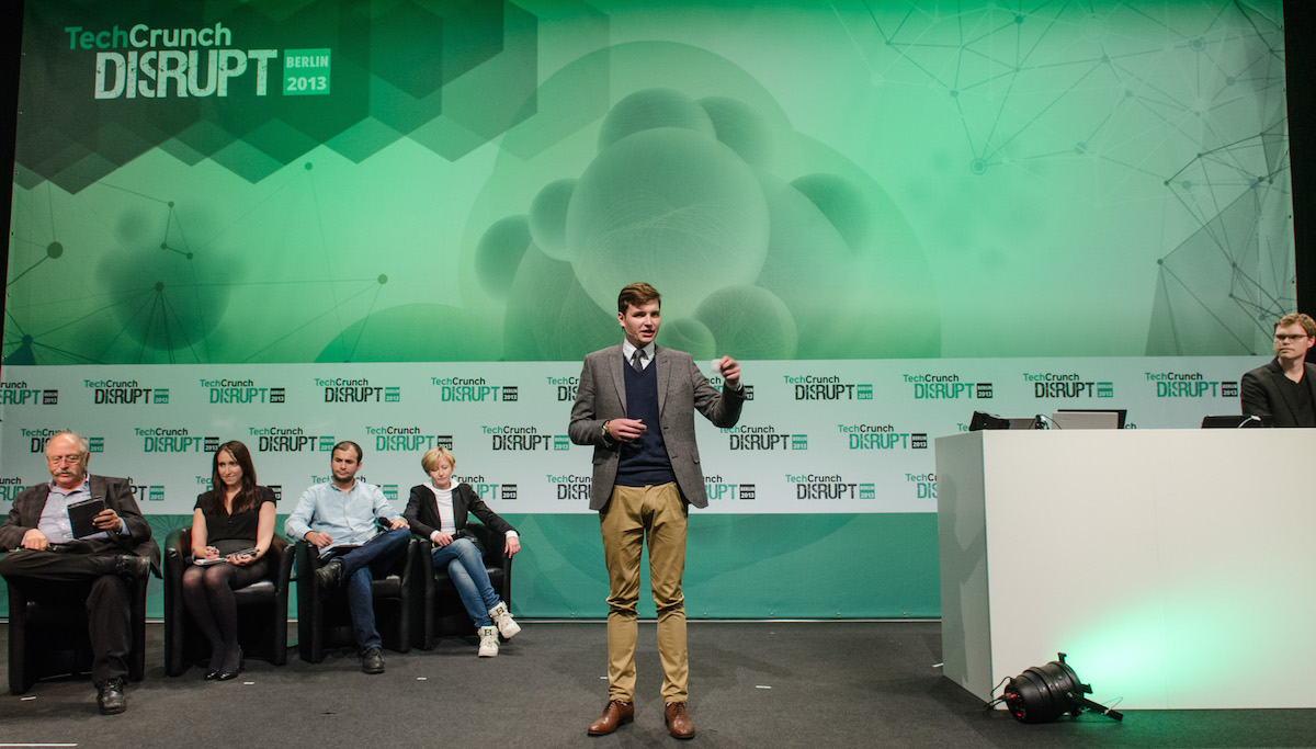 HIGH MOBILITY presenting at TechCrunch Disrupt Berlin 2013
