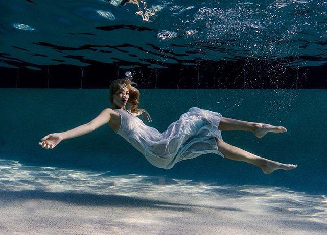 Submerged with @brittaneyjohnston