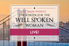 KC Baker: The School for the Well Spoken Woman - Live Social Media Curator