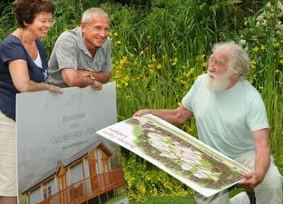 Professor David Bellamy backs Bulmer Farm Park Lodges as a boost for eco-tourism in Ryedale