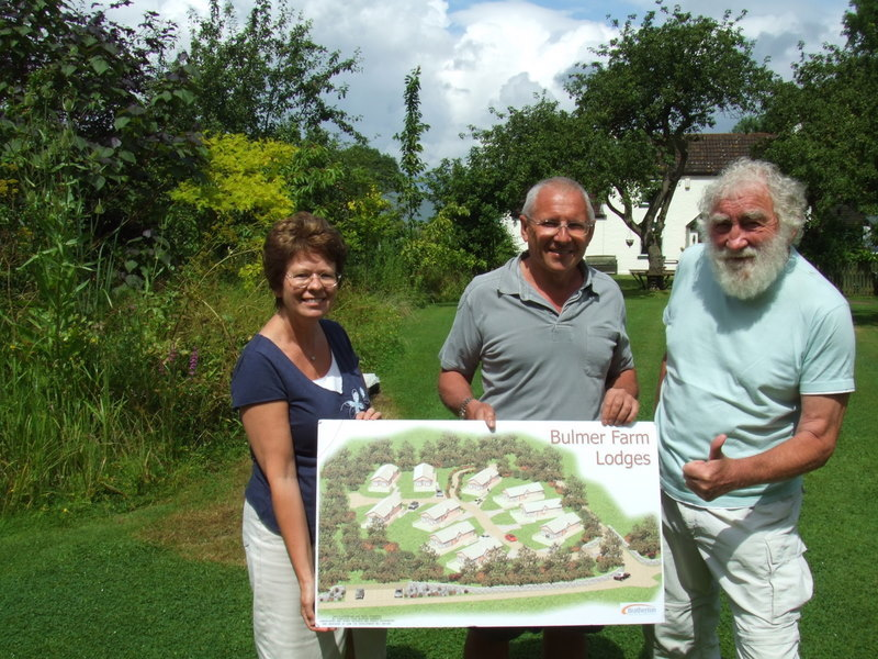 Professor David Bellamy visits the Park to advise on landscape to attract the wildlife.