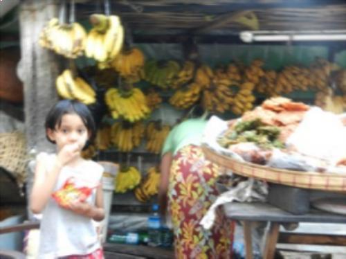 (Street market near where we stayed)