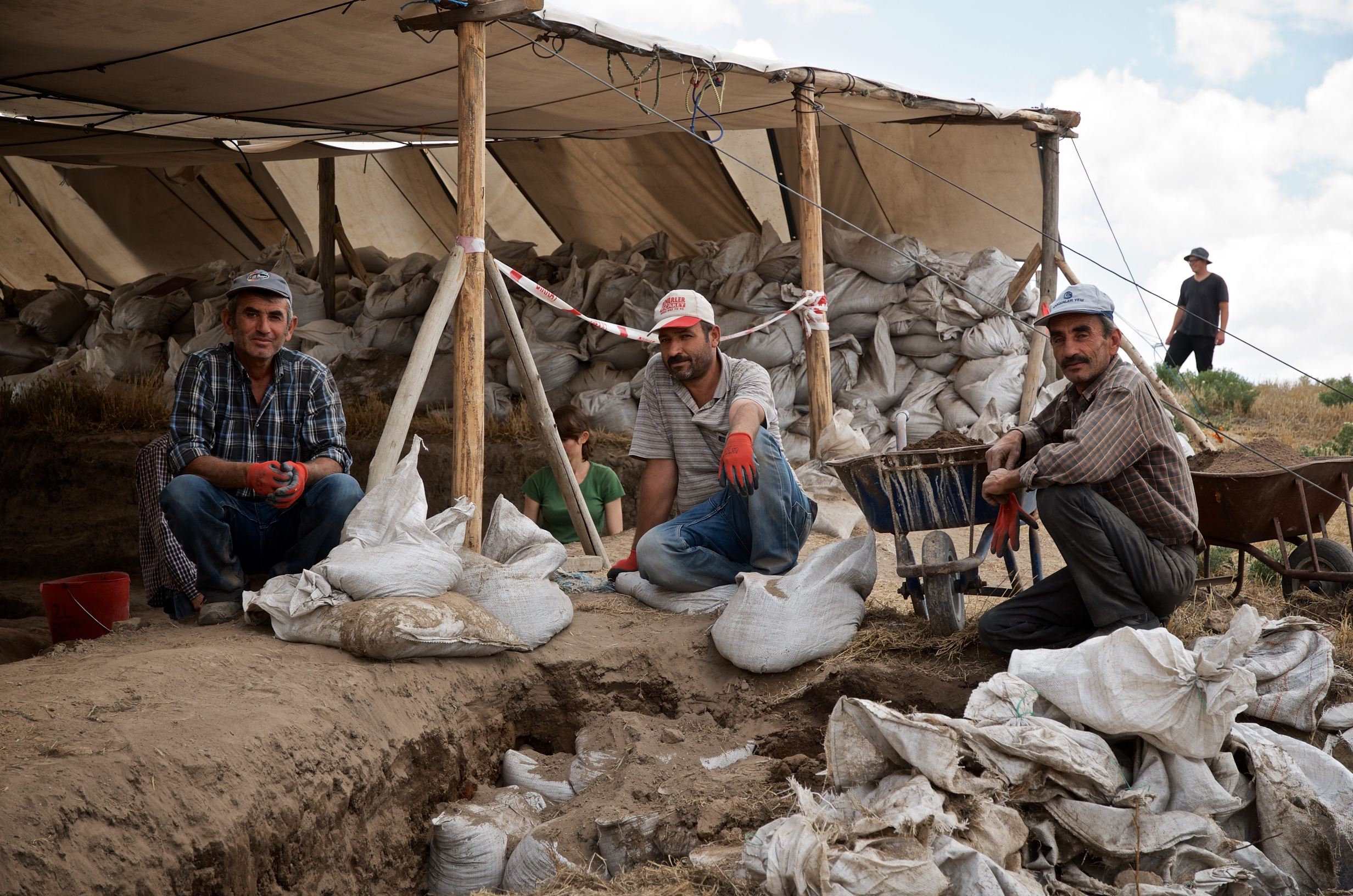 Local Site Workers at Çatalhöyük