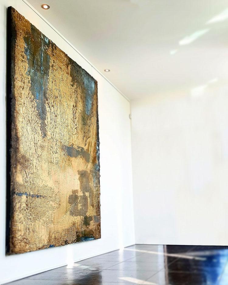 Untitled  2018 200 x 240 cm Mixed media on canvas  © Tom Herck