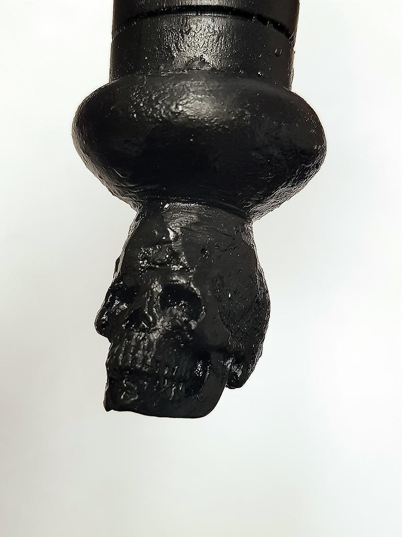 The War On Drugs  2019 Baton skull detail. © Tom Herck