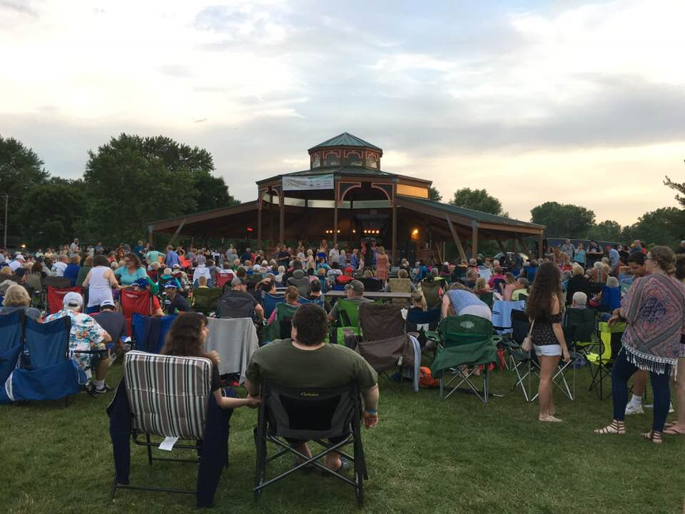 Oakdale Summerfest Bandshell Concert. Photo Courtesy of Ann Hagestad.