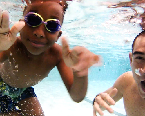 16 - Adults and kids completed our Adaptive Learn2swim program (the first of its kind in Chicago!)