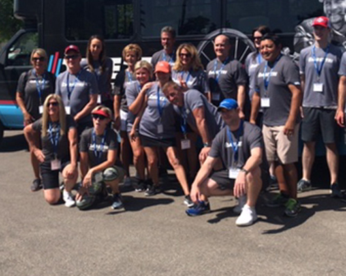 22 - Employees from Calpine Energy Solutions participated in our first team building and volunteer experience