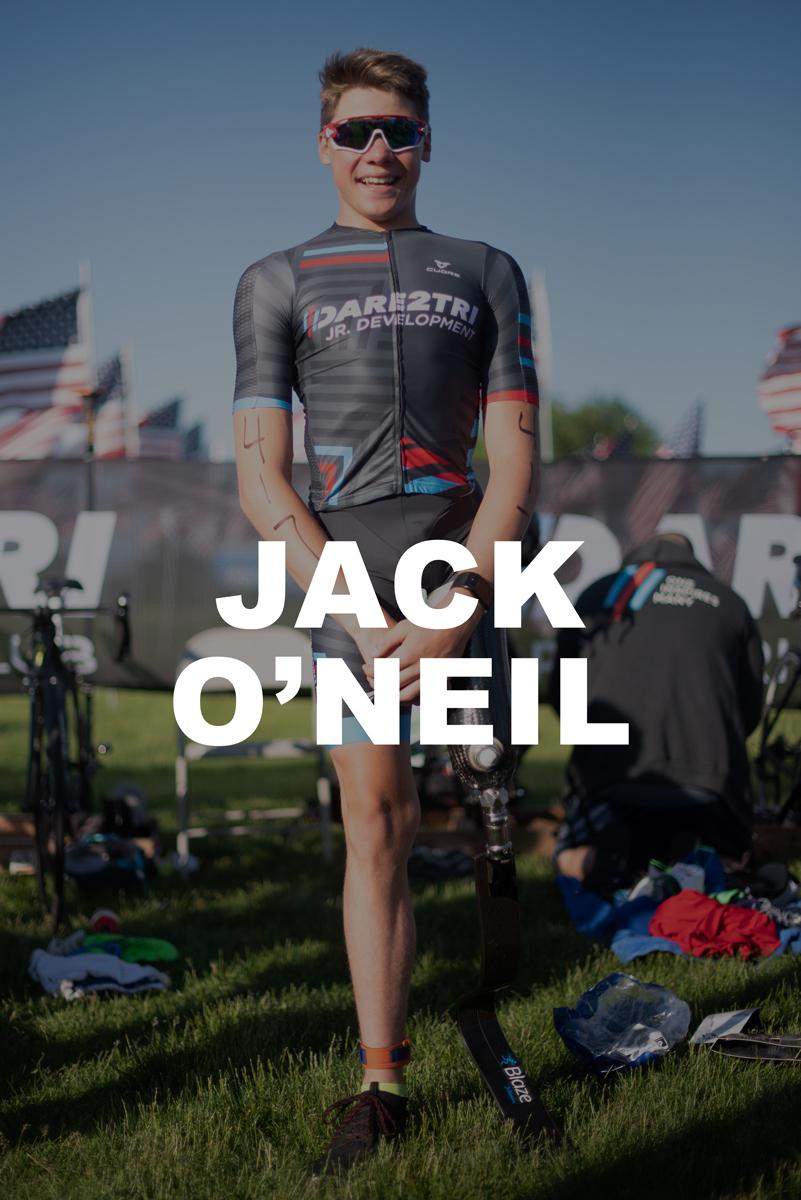 Dare2tri Athlete Jack O'Neil