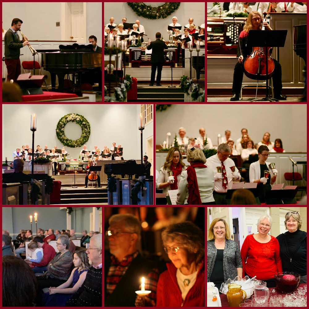 Thank you to Kathy Rhyne for all Vespers photos.