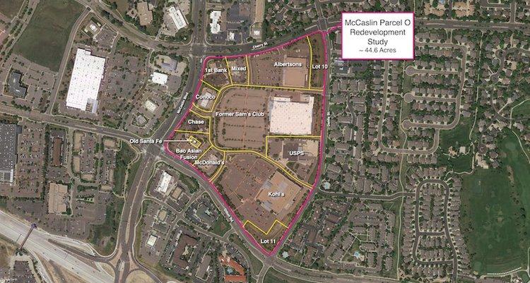 McCaslin Redevelopment Study |  Louisville, CO