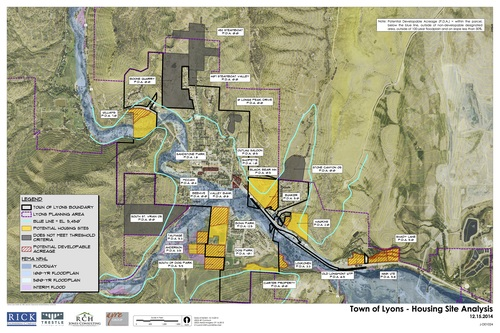 Housing Site Selection  | Lyons, CO