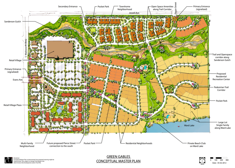 Area Master Planning  | Lakewood, CO