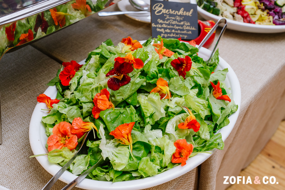 Seasonal Mixed Green Salad