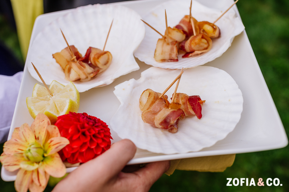 Nantucket Bay Scallops Wrapped with Bacon