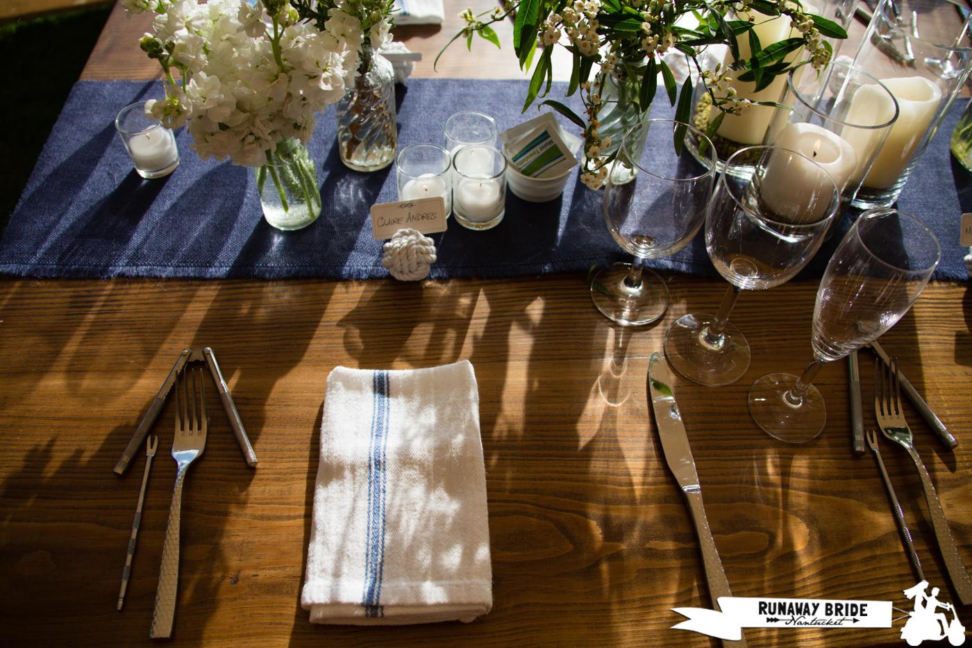 Elizabeth_Scott_Wedding(293of292) Farm Table  Stripe NCC towel clambake.jpg